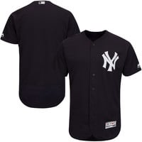 Men's New York Yankees Majestic Navy Authentic Collection Flex Base Team Jersey