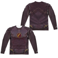 The Flash TV Show Sublimated Mens Long Sleeve Costume T-Shirt