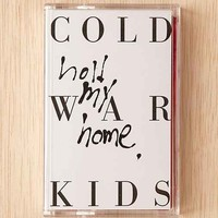 Cold War Kids - Hold My Home Cassette Tape