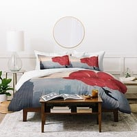 Maybe Sparrow Photography Floating Over The City Duvet Cover