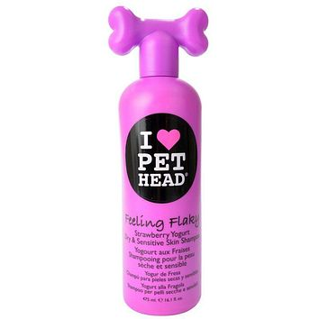 Pet Head Feeling Flaky Dry & Sensitive Skin Shampoo - Strawberry Yogurt