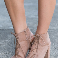 Bold As Love Booties, Tan