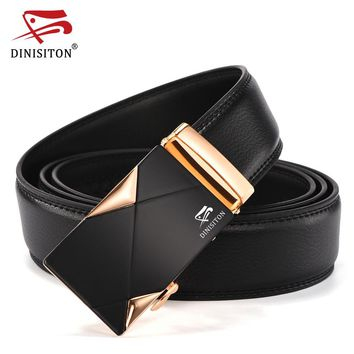 New Arrival Luxury Belts for Men High Quality Designer Leather Belts Fashion Automatic Buckle Belt Casual Strap