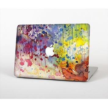 """The WaterColor Grunge Setting Skin Set for the Apple MacBook Air 11"""""""