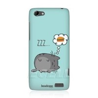 Amazon.com: Head Case Designs Dreaming Cat Protective Back Case Cover for HTC One V: Cell Phones & Accessories