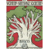 Women's Suffrage Societies Giclee Print at Art.com