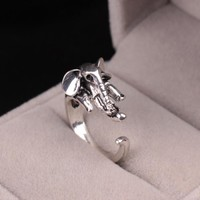 New Arrival Gift Jewelry Shiny Stylish Strong Character Punk Animal Accessory Ring [6573104903]