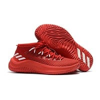 Adidas Lillard Dame 4 Chinese Red Basketball Shoes | Best Deal Online
