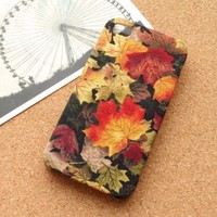 Hand Maple Leaves Case for iPhone