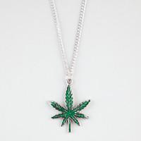 Blue Crown Flora Necklace Green One Size For Men 23853350001