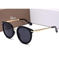 DIOR Women Fashion Popular Summer Sun Shades Eyeglasses Glasses Sunglasses