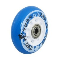 Replacement 608ZZ Bearing 72mm Dia Scooter Inline Skating Wheel Blue
