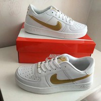 nike air force 1 unisex sport casual classic fashion low help plate shoes couple sneakers