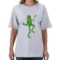 The Muppets Kermit dancing Disney T-shirts from Zazzle.com