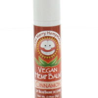 Merry Hempsters Vegan Hemp Lip Balm Cinnamon .14 oz