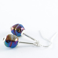 Beadwork Earrings Murano Glass Jewelry Fashion
