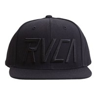 RVCA Charge Starter Hat Black, One Size