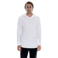 Tribute Hooded Knit - White