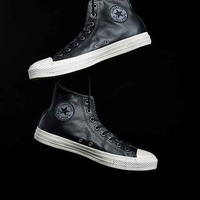 Converse X UO Chuck Taylor All Star Leather High-Top Men's Sneaker- Black