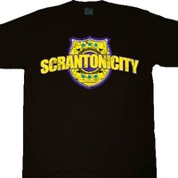 The Office Police Tribute Band Scrantonicity T-shirt