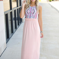 One More Day Maxi Dress