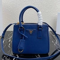 Prada High Quality Women Fashion Leather Handbag Crossbody