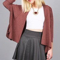 Diffused Knit Cardigan   Cut Clothes at Pink Ice