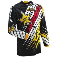 Thor Motocross Phase Rockstar Jersey - Motorcycle Superstore - Closeout