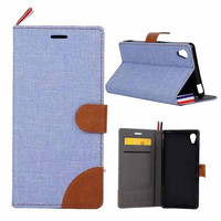Retro Wallet Leather Case For Sony Xperia Z4 Z3+ Z3 Plus Dual E6553 5.2 Inch Vintage Phone TPU Back Card Slot Cover With Strap