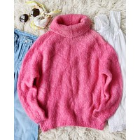 Vintage 60's Pink Sweater