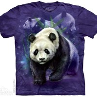 New PANDA COLLAGE T SHIRT