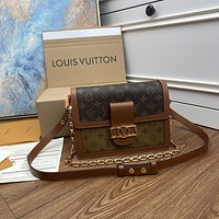 The highest quality of the whole network Louis Vuitton LV Fashion New Monogram Leather Shoulder Bag Women Handbag
