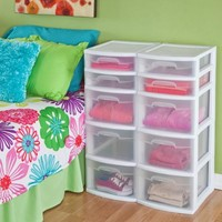Sterilite 5 Drawer Tower- White (Available in Case of 2 or Single Unit) - Walmart.com