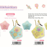 Sanrio Licensed Little Twin Stars Squishy ~ Star Macaroon Squishy
