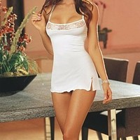 Sexy Women Lace Lingerie Mini Dress Underwear Nightwear Sleepwear Dress Newest