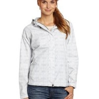White Sierra Women's Plaid Trabagon Jacket