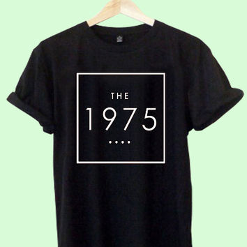 The 1975 logo Shirt black T-shirt