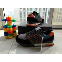 """New Balance"" Fashion Casual All-match Male Female N Words Breathable Couple Sneakers Running Shoes"