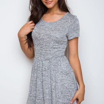 Shop Priceless Reese Dress - Gray