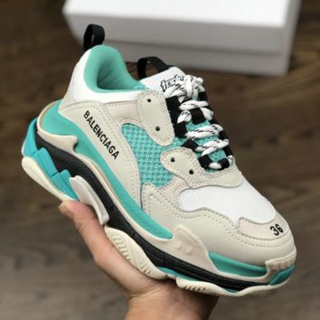 Casual BB Balenciaga Track.2 Sneaker Clunky Shoes with BOX