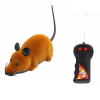 Hot Funny Remote Control RC Wireless Rat Mice Mouse Toy For Novelty Cat Dog Brown Black Grey 3 Colors Option Free to Buy
