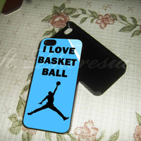 Love Basketball on samsung galaxy s3/s4 case, iPhone 4/4 case, iPhone 5/5s/5c case NBACASES