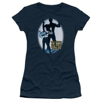 Elvis Presley Juniors T-Shirt Shadow Navy Tee