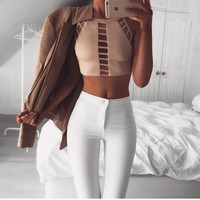 Women'S Clothing Sexy Vest Shirt