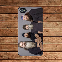 iphone 4 case,iphone 4s case,iphone 4 cover--Duck Dynasty,in plastic or silicone case
