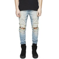 Men's Jeans Fit Ripped