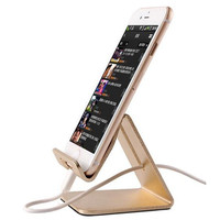 Mobile Phone Charge Holder Aluminum Cellphone Dock Case for iPhone 7 6 Galaxy S7 edge S6 Note Tablets Bracket Cradle Stand Cover