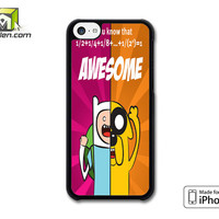Adventure Time Jake And Finn Awesome iPhone 5c Case Cover by Avallen