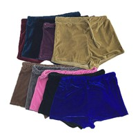 10 colors women velvet drawstring shorts casual candy color short 2017 summer autumn sexy elegant skinny shorts night club wear