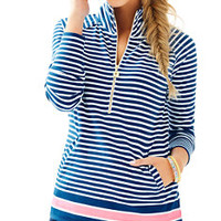 UPF 50+ Skipper Striped Popover | 24194 | Lilly Pulitzer